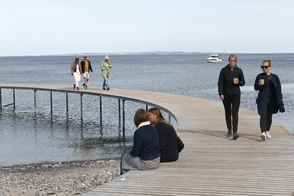 Daily Life During The Coronavirus Lockdown In Aarhus