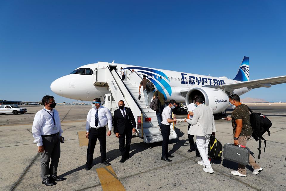 EGYPT-TOURISM-HEALTH-VIRUS coronavirus COVID-19 tourism