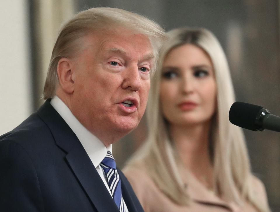 President Trump Holds News Conference On Paycheck Protection Program