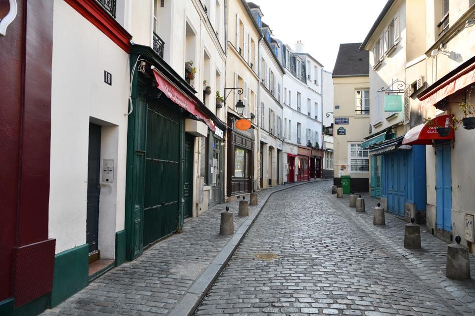 Montmarte, Paris, in April (Photo: Frédéric Soltan/Corbis)