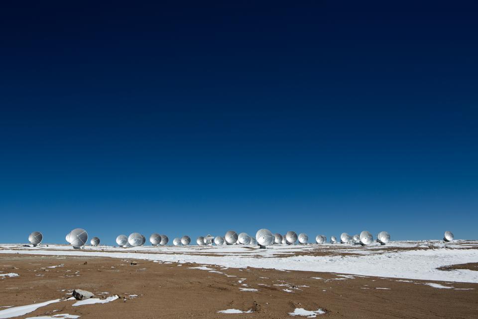 ALMA Project In Atacama Desert, Chile