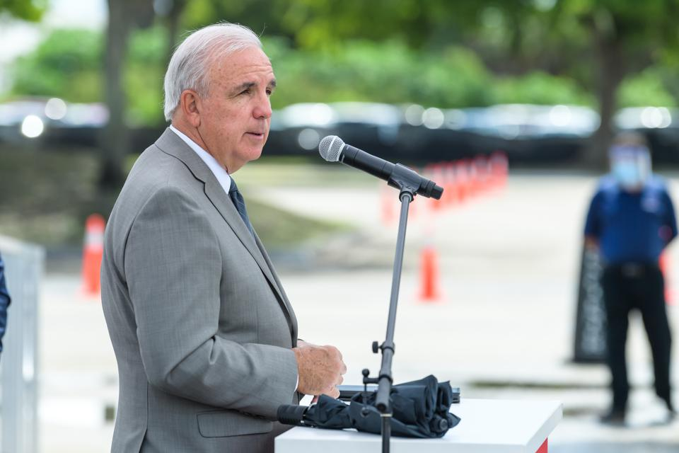 BioReference Laboratories Hosts Grand Opening Of COVID-19 (Coronavirus) Antibody Testing Collection Event At The Miami International Mall With Local Government Officials Providing Opening Remarks