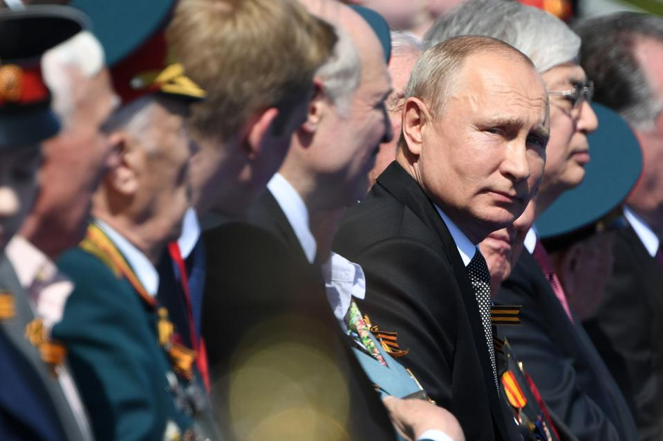 Russia Holds 75th Anniversary Victory Parade Over The Nazis In WWII