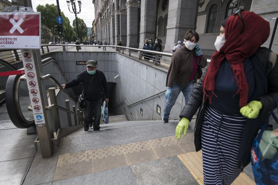 Italy Eases Some Lockdown Restrictions As Coronavirus Infection Rate Falls