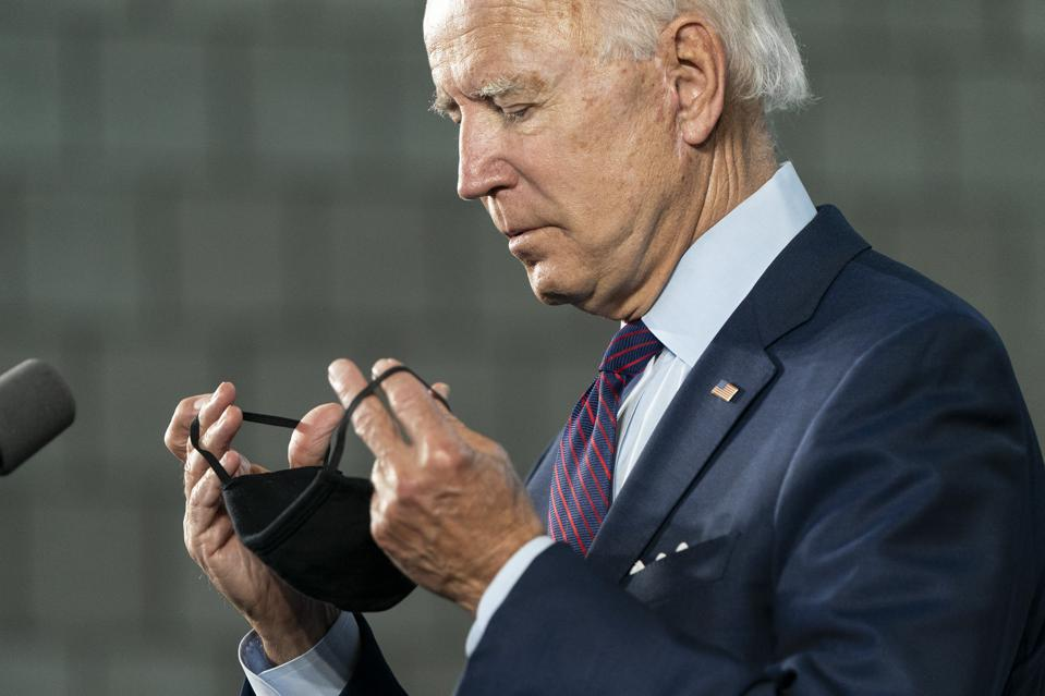 Biden Says He Would Use Federal Power To Mandate Mask-Wearing