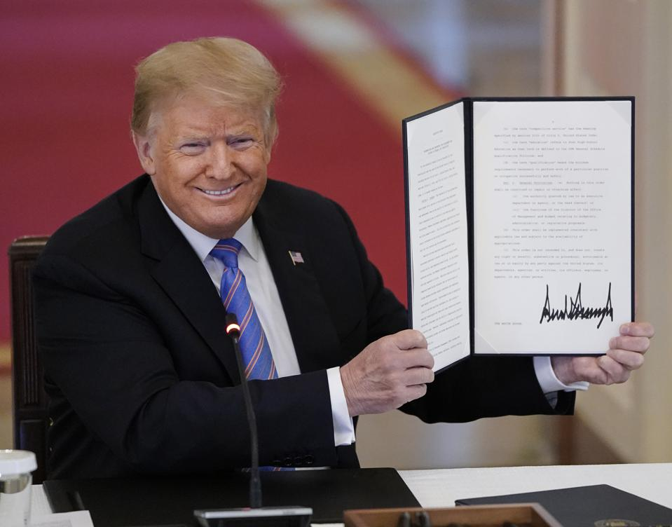 Student Loan Forgiveness: House Fails To Override Trump Veto - Forbes