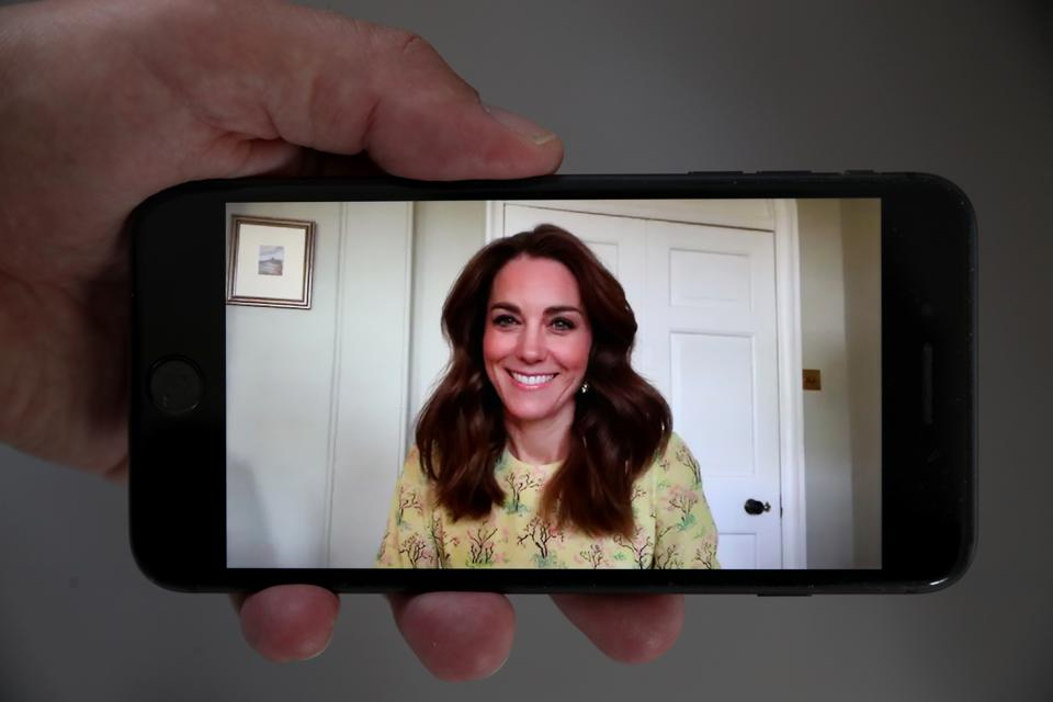 The Duchess Of Cambridge Launches Community Photography Project ″Hold Still″