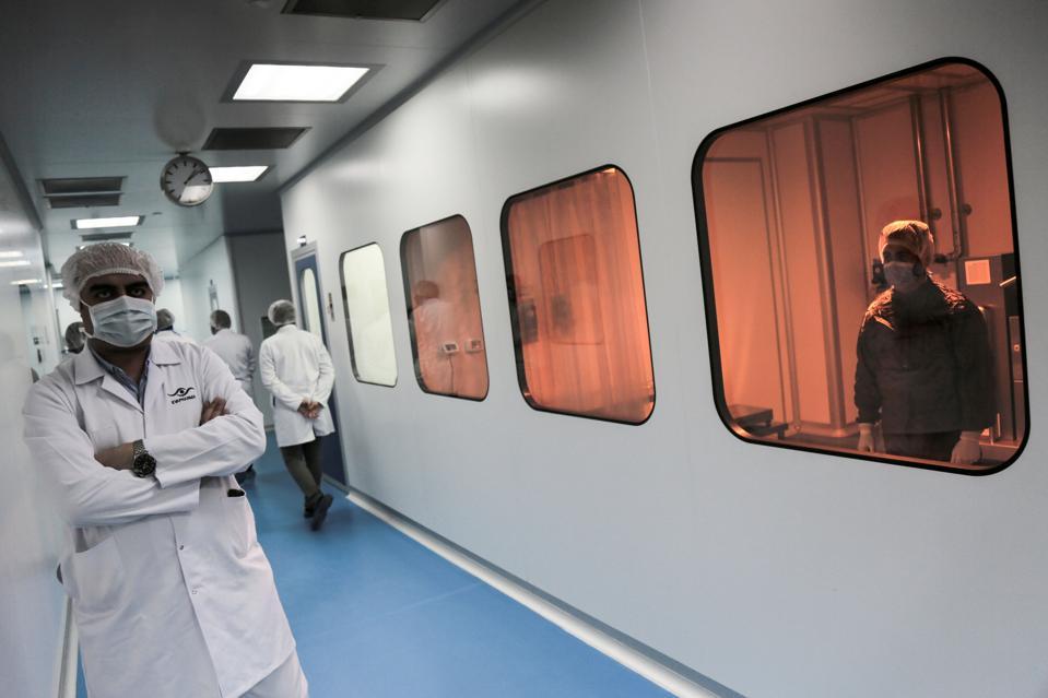 COVID-19 medicine production in Egypt