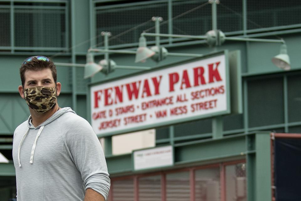 Boston Red Sox Summer Camp Arrival