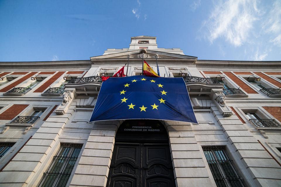 A European Community Flag