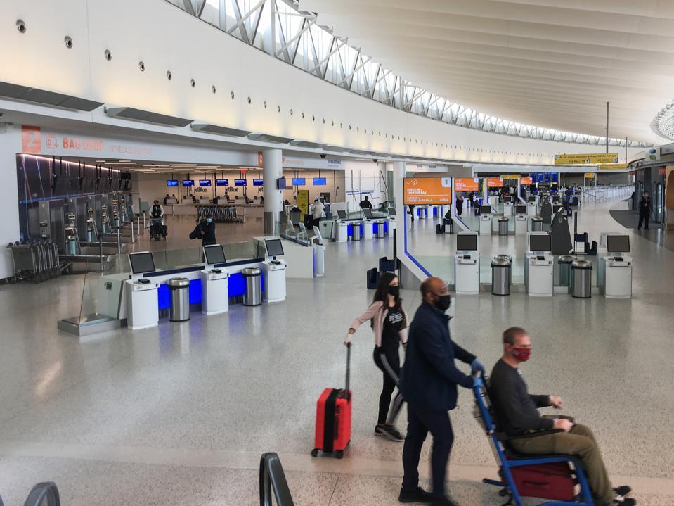 U.S. Airline Traffic Plummets More Than 90 Percent in Pandemic