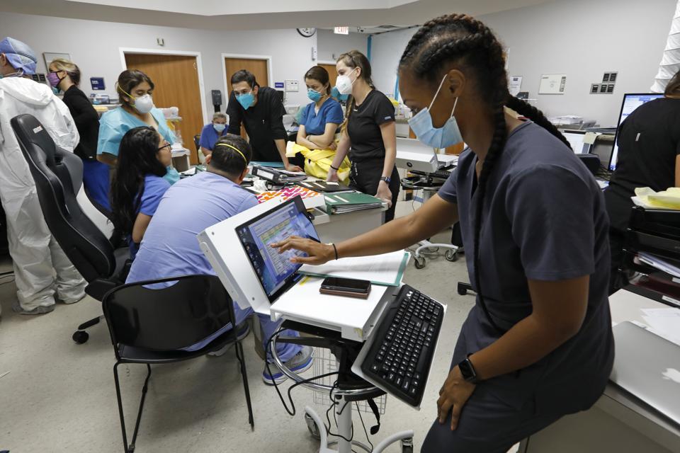 United Memorial Medical Center In Houston, Texas Takes On The Coronavirus