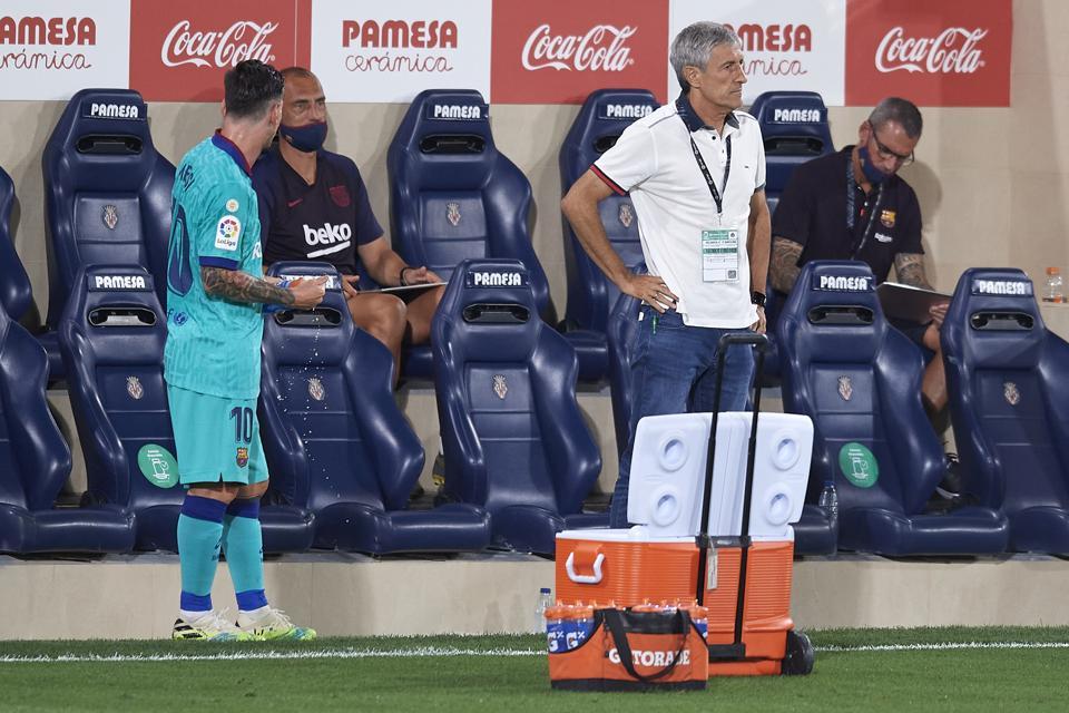 Has FC Barcelona coach Quique Setien found FC Barcelona's best system?