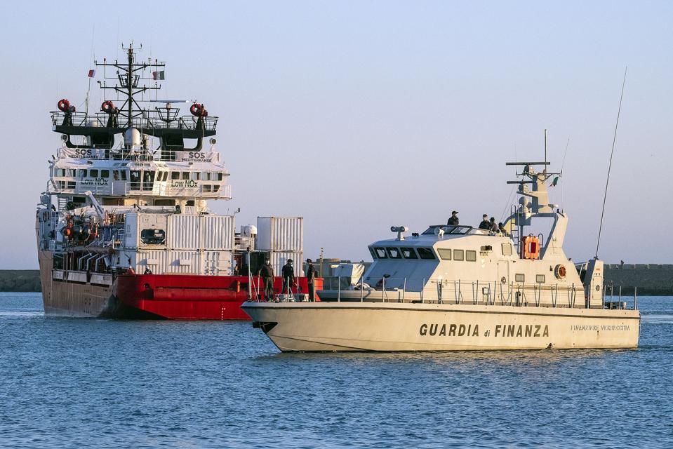 ITALY-EUROPE-MIGRANTS-LIBYA-OCEAN VIKING