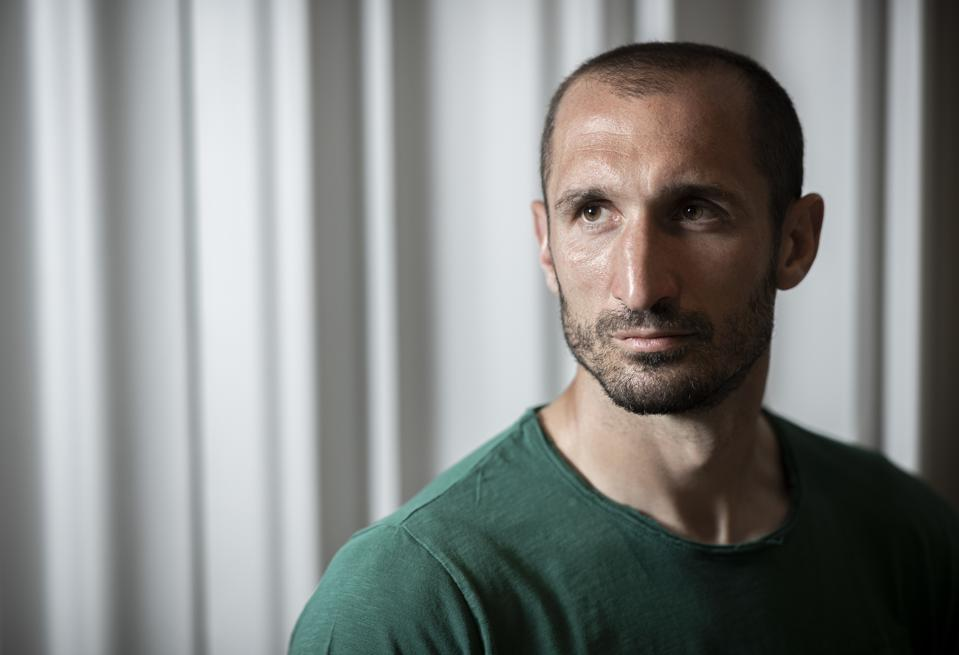 Giorgio Chiellini Portrait Session