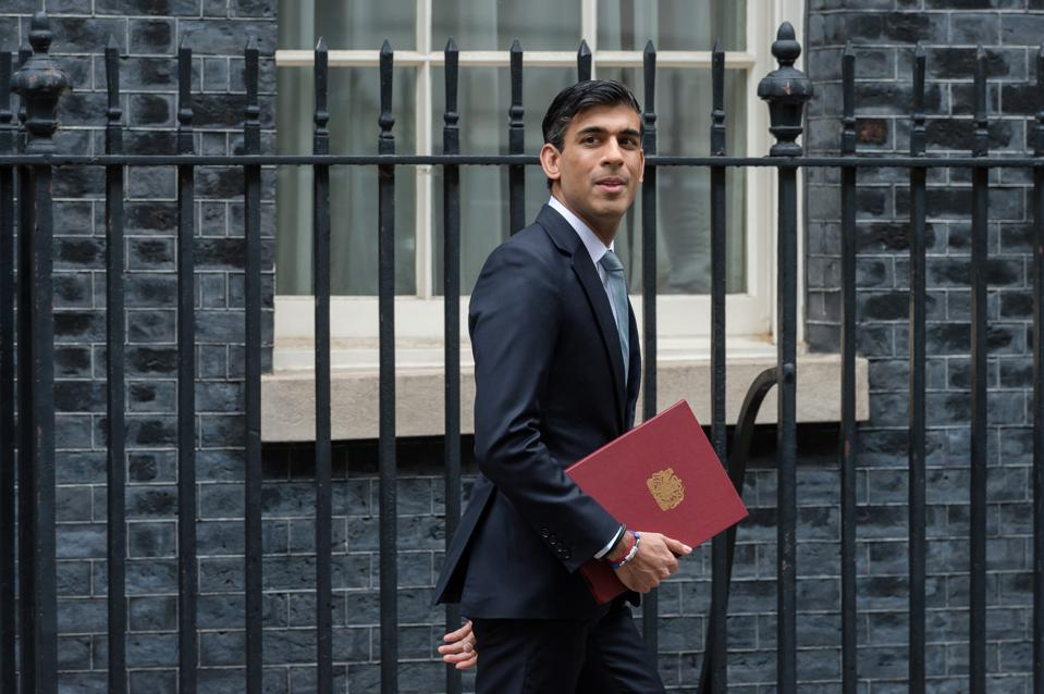 Chancellor of the Exchequer Rishi Sunak delivers the Summer Statement in the House of Commons on 08 July, 2020 in London, England.