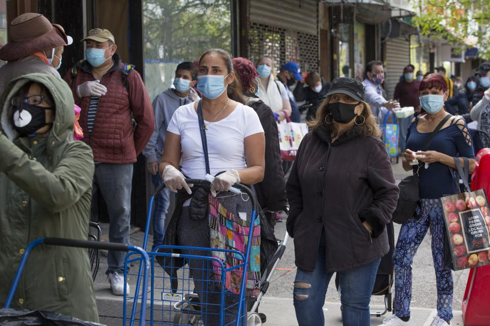 Daily life in New York during  the COVID-19 pandemic