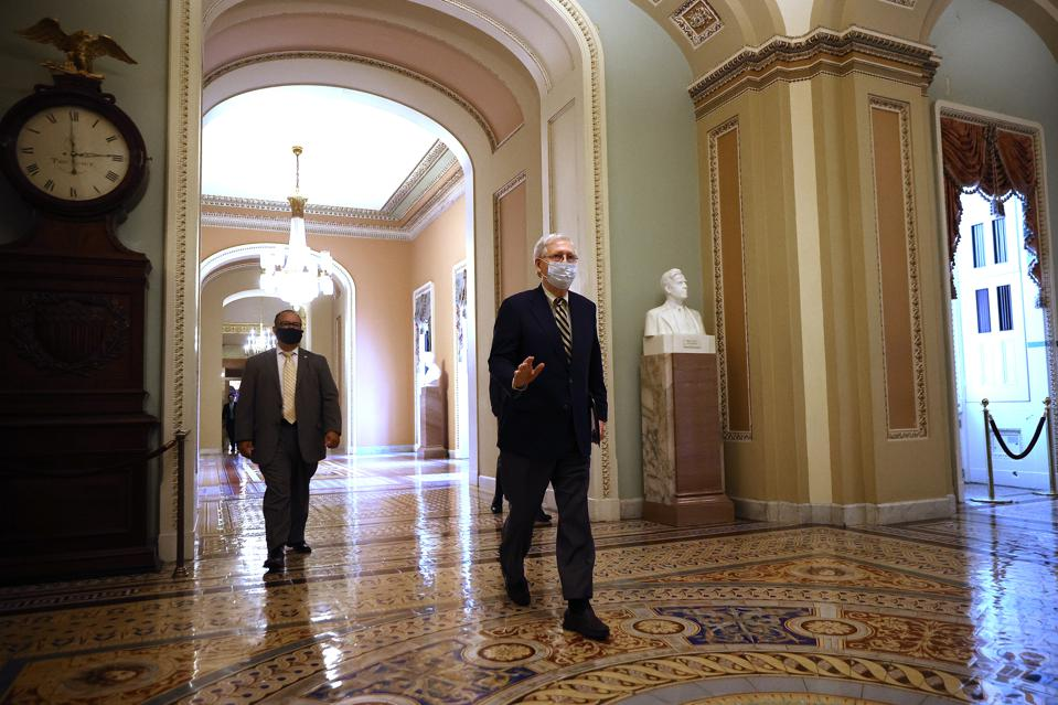 U.S. Senate may discuss stimulus relief for COVID-19 Pandemic by end of July