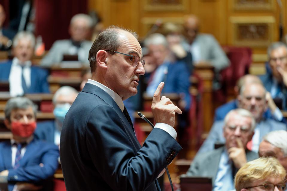 Ministers Attends At The Session Of The Questions At French Senate