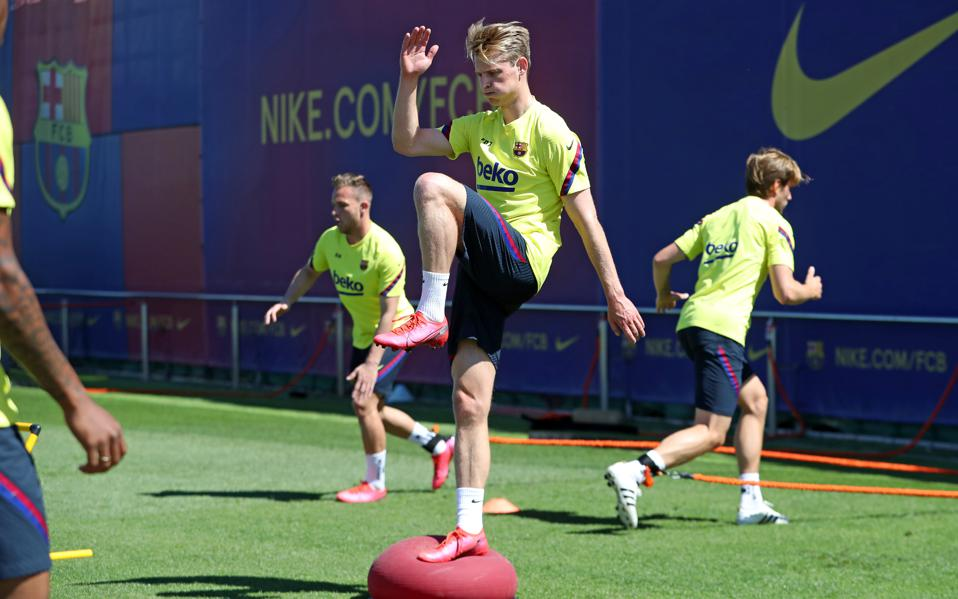 Frenkie De Jong Speaks On Fitness Training And Fc Barcelona S Readiness To Return To Action