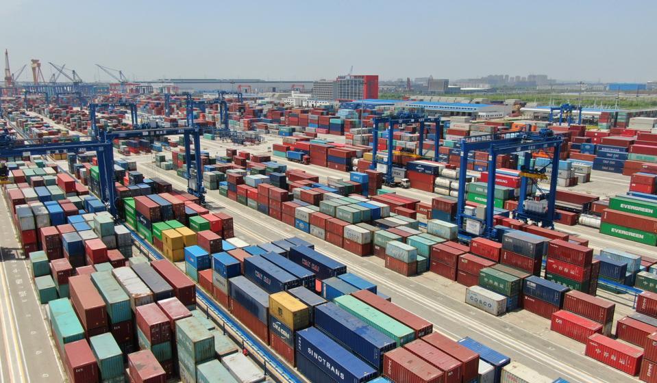 Tonghai Port In Nantong