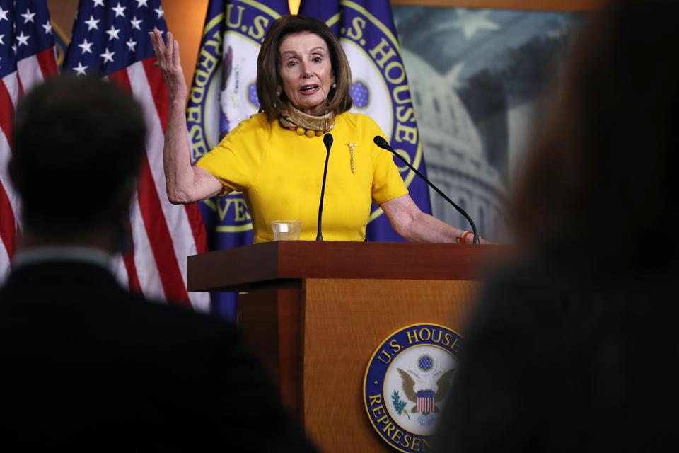 Speaker Pelosi Holds Weekly Media Availability