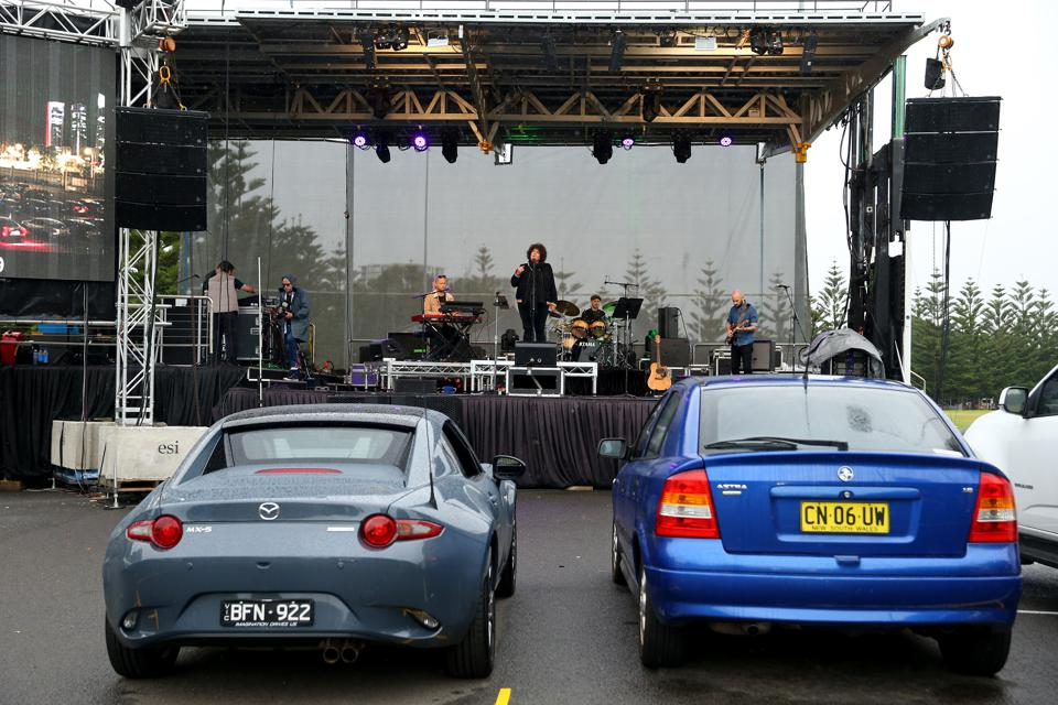Sydney Drive-In Live Performance Venue - Media Call