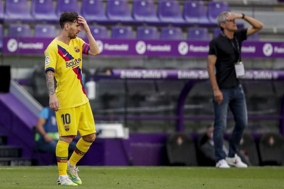 FC Barcelona captain Lionel Messi held a one-hour meeting with Quique Setien.
