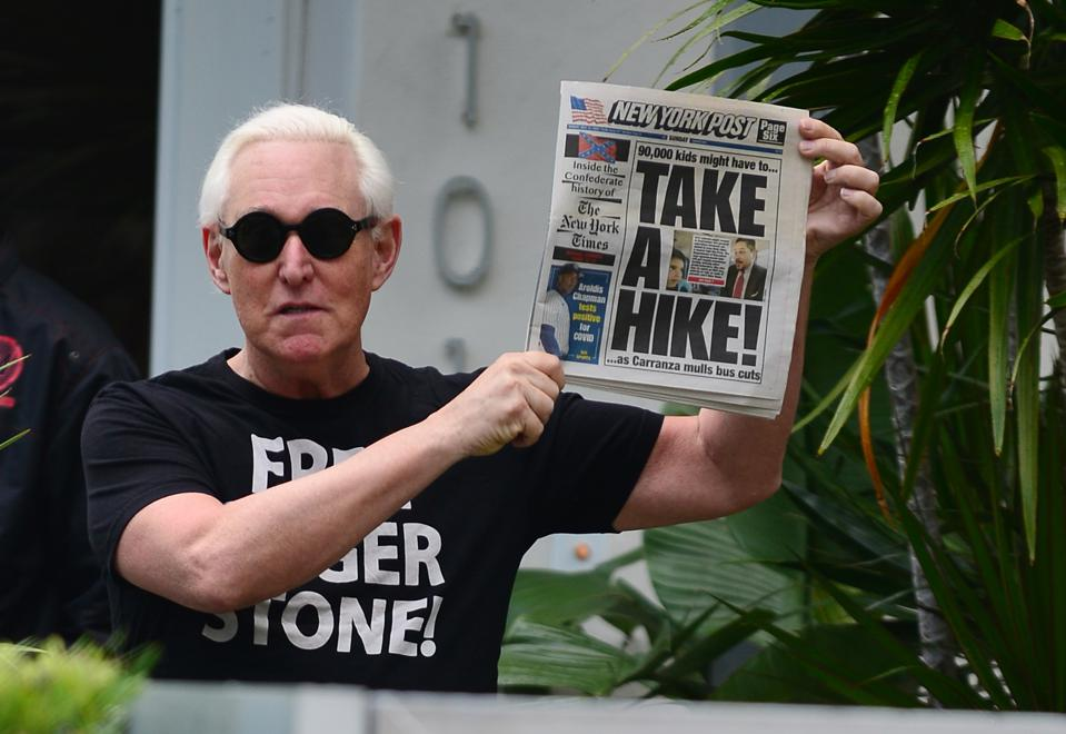 Roger Stone's Sentence Commuted By President Trump