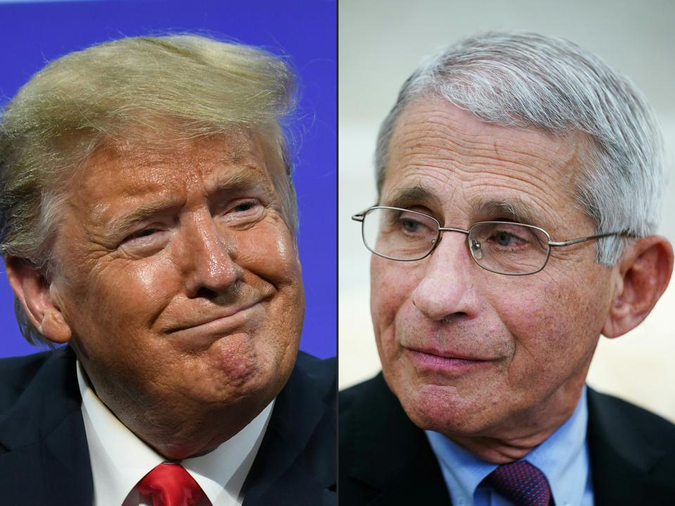 The Trump administration has attempted to discredit Anthony Fauci MD.
