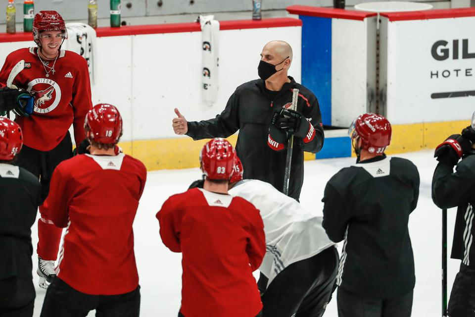 NHL: JUL 13 Coyotes Training Camp