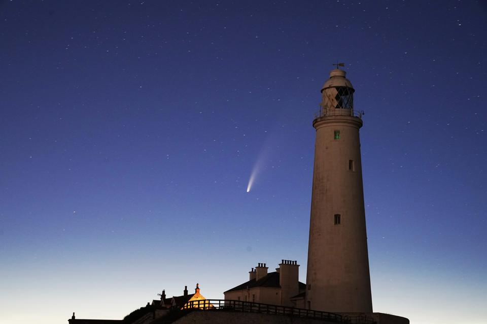 Now A Naked-Eye Comet After Dark, Few Saw Comet NEOWISE Coming. Here's How You Can See It Going