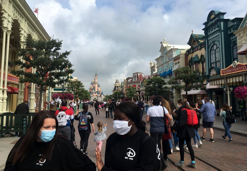 FRANCE-DISNEYLAND-HEALTH-VIRUS-TOURISM-LEISURE