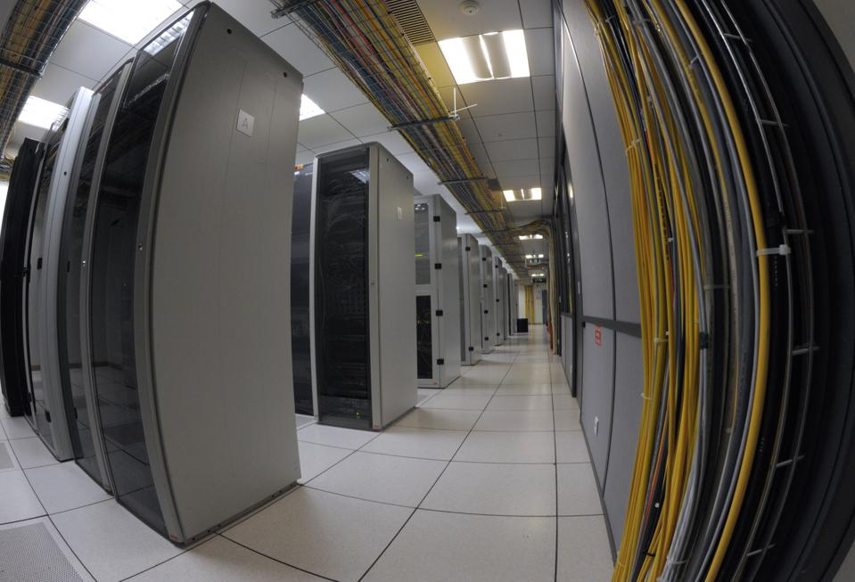 Fish Eye View of a Data Center
