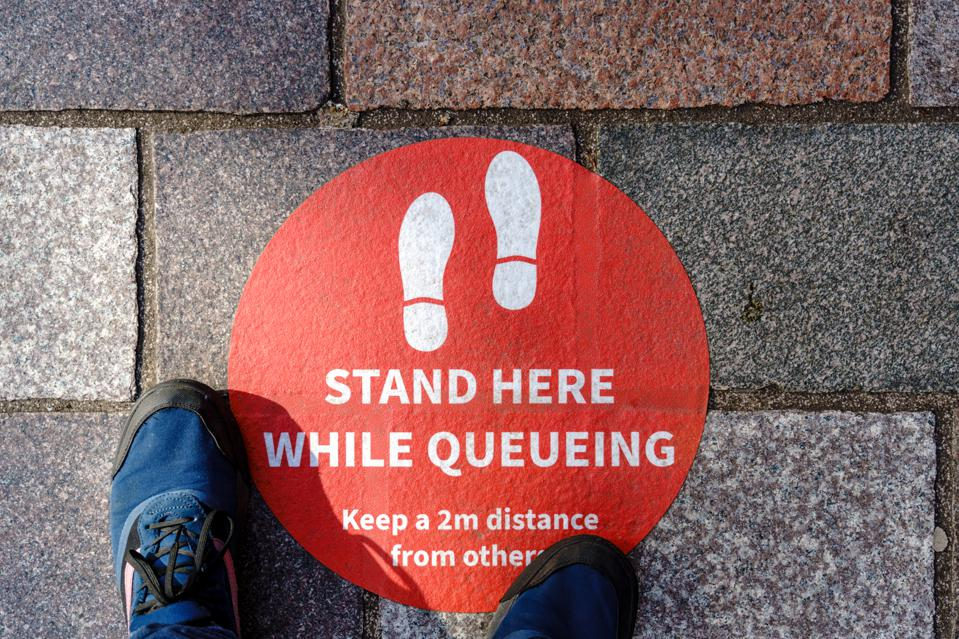 Social distancing guidelines - personal point of view