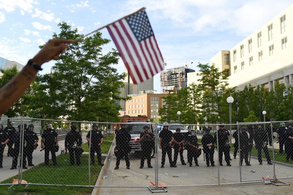 Floyd protest in Denver