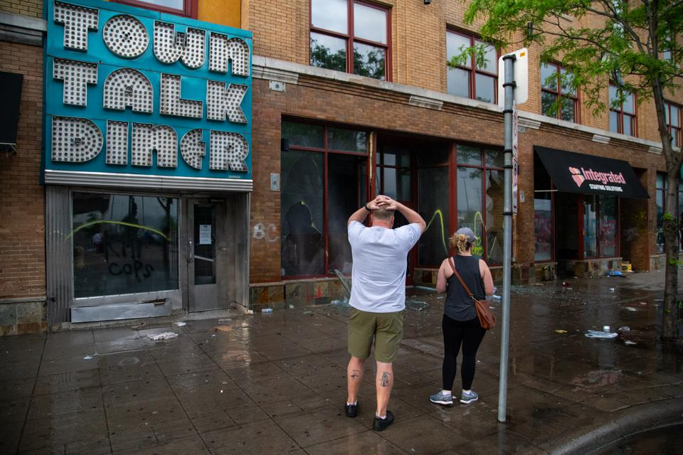 Minneapolis and St. Paul George Floyd protests