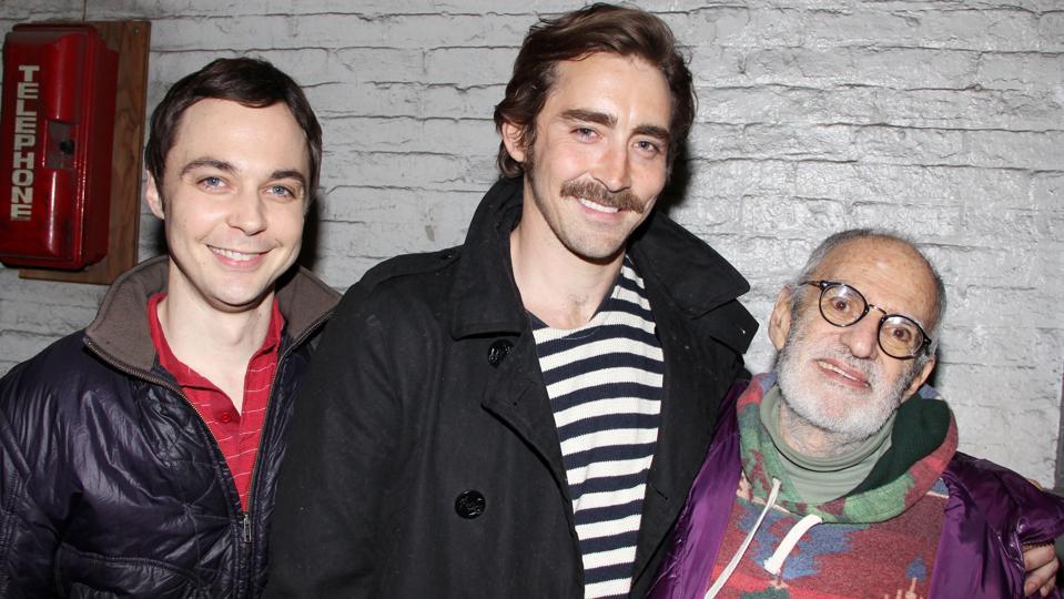 Celebrities Visit Broadway - April 19, 2011