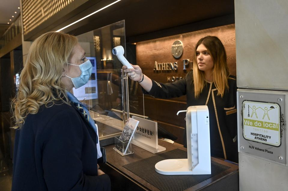 Greece Athens hotels reopen Travel Restrictions Tourism Europe Covid-19