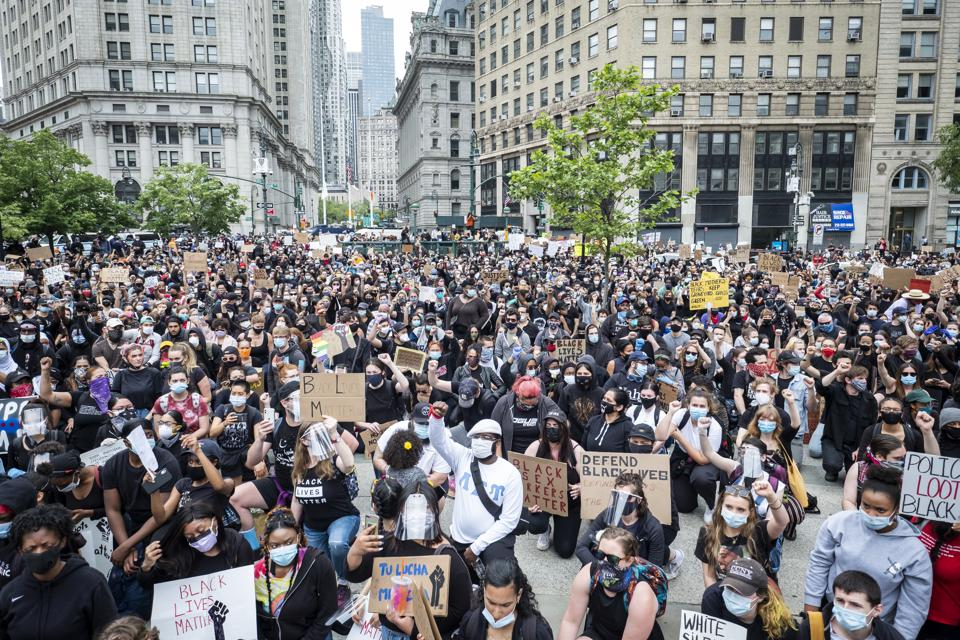 George Floyd Protest : New York City