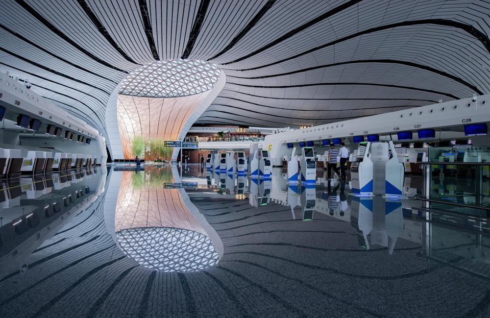 Beijing Daxing International Airport Resumes Services Gradually