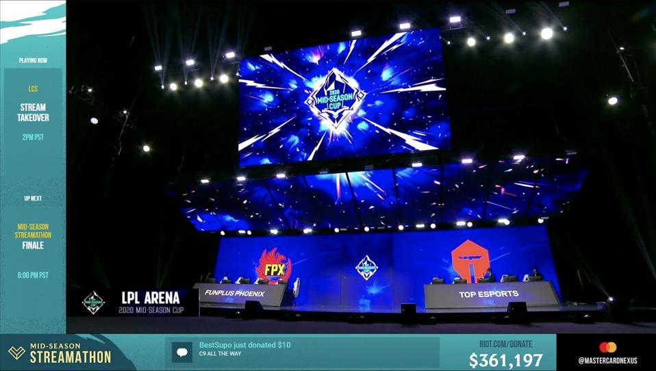 League of Legends Mid-Season Cup Shanghai 2020