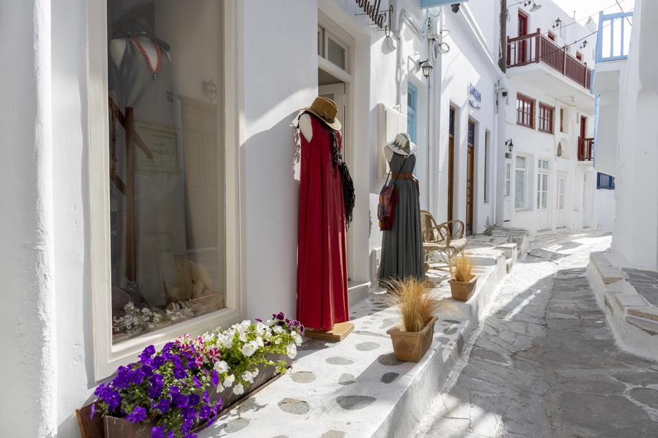 The Greek Island Mykonos Waits For Tourists