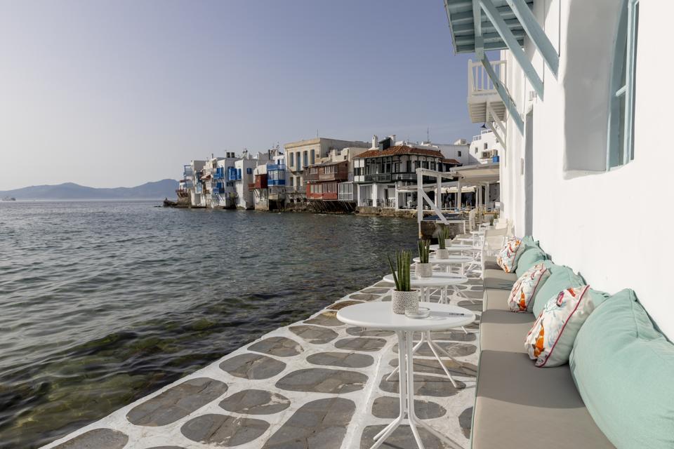 Greek Island Mykonos Waits For Tourists As EU lifts Covid-19 Europe travel ban