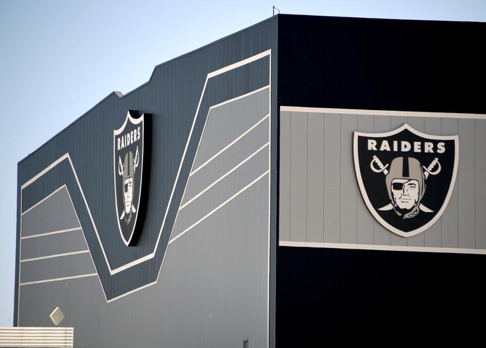 Las Vegas Raiders practice facility, Henderson, NV.