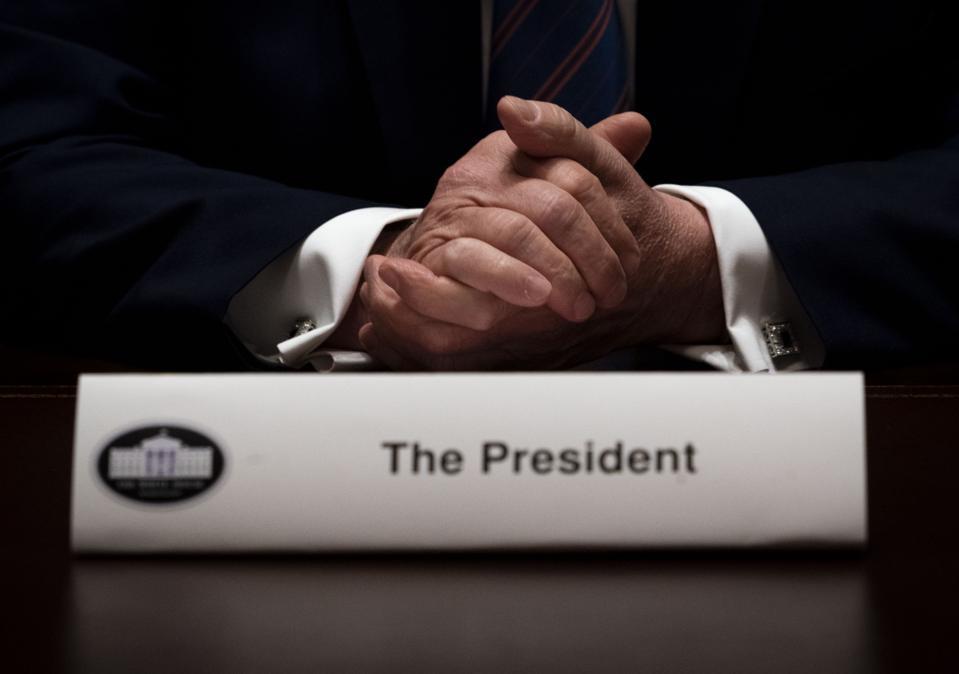 President Trump Holds Roundtable On American Seniors