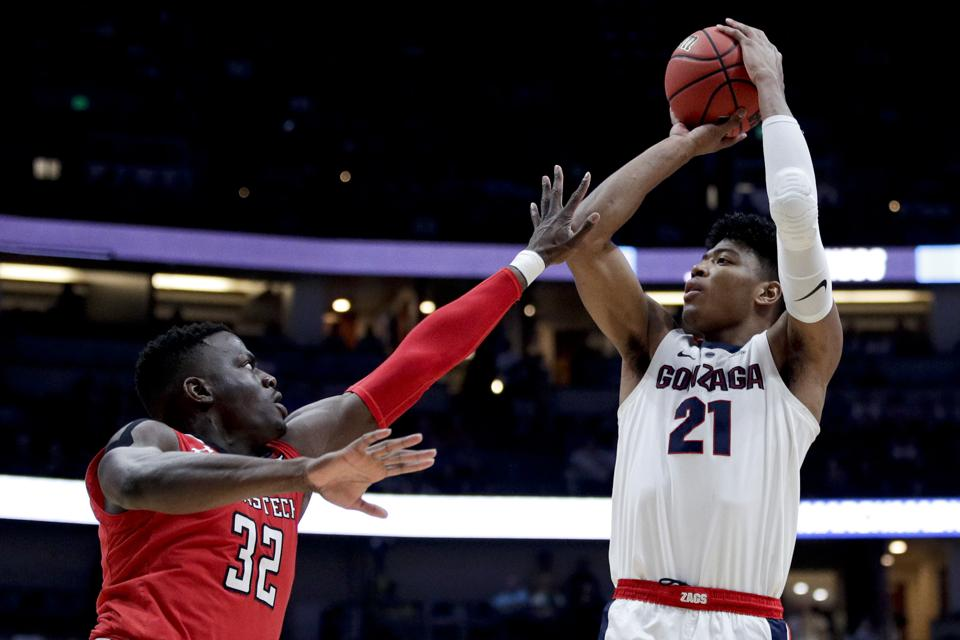 NCAA Texas Tech Gonzaga Basketball