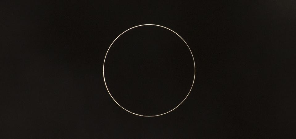 Annular Solar Eclipse In China