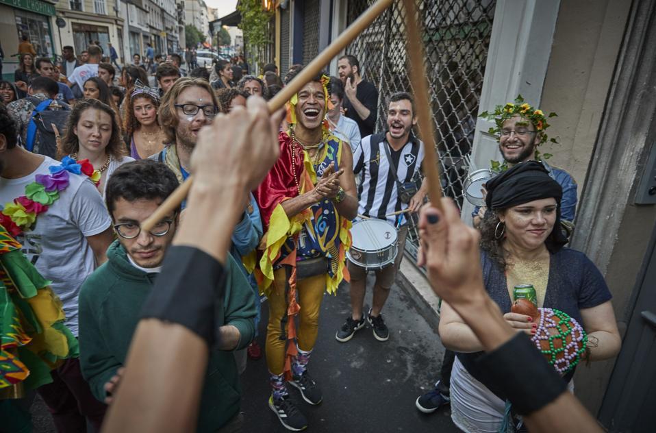 Fete De La Musique Taking Place In The Neighbourhoods Of Paris