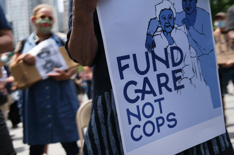 Seniors Rally At NYC City Hall For Funding Care Instead Of NYPD Drug War Incarceration